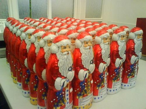 Nikolausi-Armee der Finsterniss in Rot
