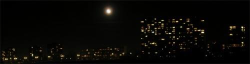 Moon over munich