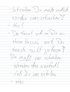 Schreibzwang