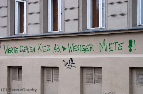 Bild 19 Der Kiez wehrt sich der finanziell erzeugbaren Marginalisierung im Kernbereich Berlins
